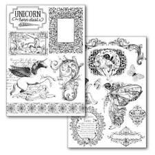Stamperia Papier Transfert A4 Wonderland CARTE POSTALE Dragonfly Horloges