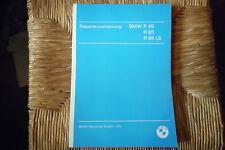 BMW Book Repair manual BMW R 45 65 65 LS