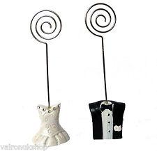 BRIDE AND GROOM WEDDING GUEST NAME PLACE HOLDER / MENU HOLDER/ TABLE NO HOLDER