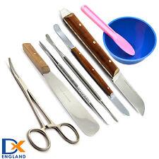 Offerte professionale di laboratorio Cera Intagliatori di miscelazione spatola ALGINATO coltelli
