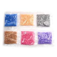 500Pcs/Bag 2.6mm Mini Hama Beads Perler Beads Kids Diy Educational Toys K7T