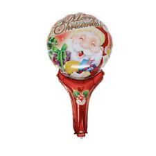 Xmas Christmas Party Foil Hand Balloons Santa Father Gift  Merry Christmas