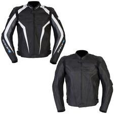 Spada Corsa GP Leather CE Armoured Sports Road Motorbike Motorcycle Jacket