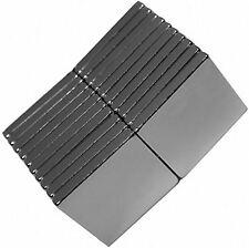 20 Neodymium Magnets 1/2 x 1/2 x 1/16 Inch Block