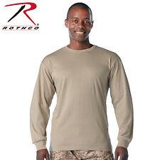 Desert Sand Solid Long Sleeve T-Shirt