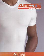T-shirt - Mezza manica. Uomo, Intimo. Scollo a V. ARCTE - CESOIA. 100% Cotone.