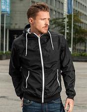 Señores chaqueta cazadora con capucha de build your brand S M L XL XXL 100% nailon