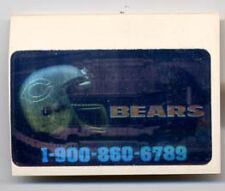 1989 Action Packed Test Set Chicago Bears Team Logo Stadium Hologram 19008606789