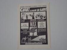 advertising Pubblicità 1973 CINEPRESA MAX