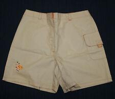 JACADI Girl's Court String Beige & Orange Fish Shorts Sz 3 Years NEW $38