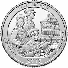 Ellis Island - National Park Quarter 2017 D Mint