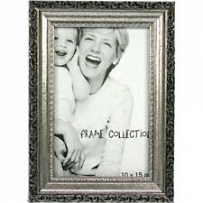 Fotorahmen Bilderrahmen Rahmen Anitk Silber 10x15cm Wanddeko 3Varianten