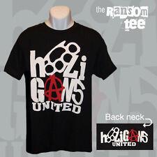 HOOLIGANS UNITED RANSOM T-SHIRT/Jersey Football/Soccer/MMA UFC England UK H.UTD