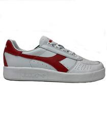 Diadora B Elite White Red Sneaker Shoes
