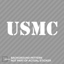 USMC Sticker Die Cut Decal united states marine corps