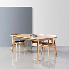 Magnus 180cm Dining Table -Solid American Oak Wood- 6 Seater-Danish Scandinavian