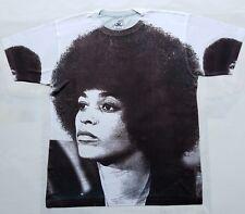 Angela Davis T Sublimated shirt black panther power Huey newton civil rights