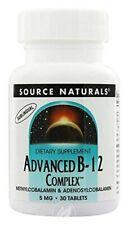 Source Naturals Advanced B 12 Complex 5 mg 30 Tablet