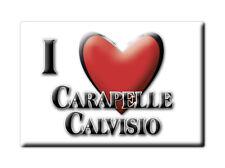 CALAMITA ABRUZZO FRIDGE MAGNET MAGNETE SOUVENIR LOVE CARAPELLE CALVISIO (AQ)