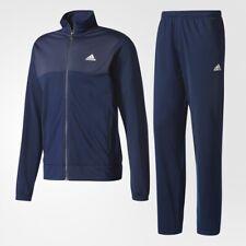 adidas performance energize felpa pantalone tuta uomo blu