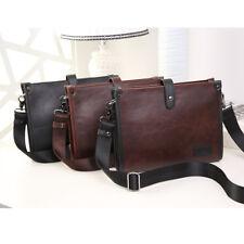 Men's Leather Business Briefcase Laptop Bag Handbag Messenger Shoulder Bag New