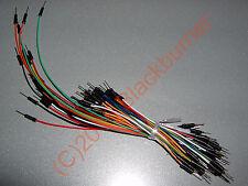 1-2x Kit di cavi 65Stck. Ponticelli Steckboard Breadboard Ponte filo