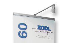Displaylampe 230V Lampe Spot für L-Banner Rollbanner Banner Displayleuchte NEU