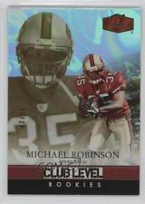 2006 Flair Showcase Legacy #177 Michael Robinson San Francisco 49ers Rookie Card