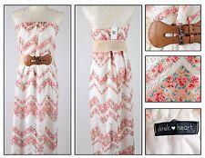 Women's Junior's Plus Sz Derek Heart Lace Belted Maxi Sun Dress Sizes 1X