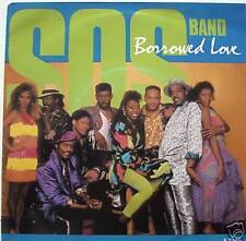 "7"" 80s SOUL! S.O.S. BAND : Borrowed Love (( MINT- ))"