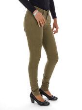 O'Neill Pantaloni in stoffa 5 tasche verde Elastica Essentials VINTAGE