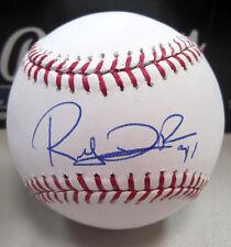 RUBBY DE LA ROSA BOSTON RED SOX SIGNED MAJOR LEAGUE BASEBALL W/COA