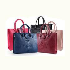 Womens Ladies Designer Celebrity Real Leather Large Shoulder Handbag Brand New