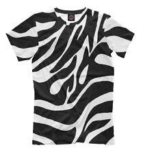 Classic zebra t-shirt - wild animal T-Shirt cool style tee print black and white