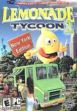 Lemonade Tycoon 2: NY Edition - Windows 8 / 7 / Vista / XP / 95/98 PC SIM Game