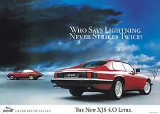 JAGUAR XJS 4.0 litre Poster Photo Print A1 (plus E Type Mk2 Mk1 XJS V-12)