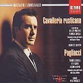 MASACAGNI / LEONCAVALLO / CAVALLERIA RUSTICANA - (2) CD SET - EMI CLASSICS