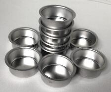 Teelichthalter Metall Silber Blecheinsatz Ø 40mm H:18mm Teelicht Tülle tief