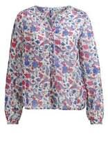 Pepe Jeans Druckbluse Monic 655-218 Damen Blume Gr XS Bluse Lila Rot Elegant Neu