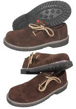 Haferlschuhe Halbschuhe Leder Trachtenschuhe braun Schuhe Herren Tracht HA01