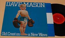 DAVE MASON-TRAFFIC:LP-OLD CREST..NEW WAVE-1°ST+INNER EX