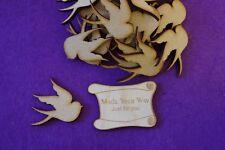 MDF Bird A 3cm, 4cm - Laser cut wooden shape