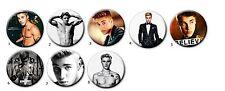 "1.25"" Justin Bieber Buttons Pins Badges 1 1/4 inch"