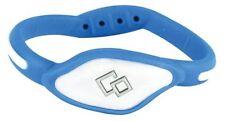 BLUE WHITE Flex Loop Bracelet Trion Z Magnetic Wristband Arthritis Golf Health