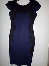 kardashian Kollection Women's Sleeveless Pencil -Lace Print