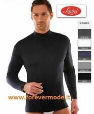 Suéter de hombre Liabel manga larga con collar burlesco de algodón cálido art