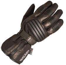Richa 9904 Waterproof Leather Thermal Winter Motorcycle Motorbike Gloves - Black