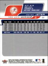2003 Fleer Focus JE Baseball - Choose Your Cards