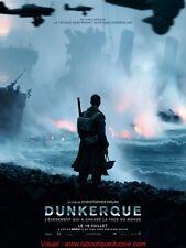 DUNKERQUE Affiche Cinéma Movie Poster CHRISTOPHER NOLAN