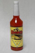 PEACH Syrup 32oz Barcarola Compatable with Bellini